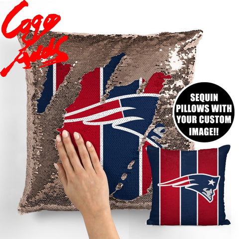 New England Patriots pillow cover,  [product_collection], DEFINITE Sporting Goods, [product_tags]- DEFINITE Sporting Goods