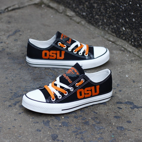 Oregon State Beavers Womens Team Canvas Shoes,  [product_collection], DEFINITE Sporting Goods, [product_tags]- DEFINITE Sporting Goods