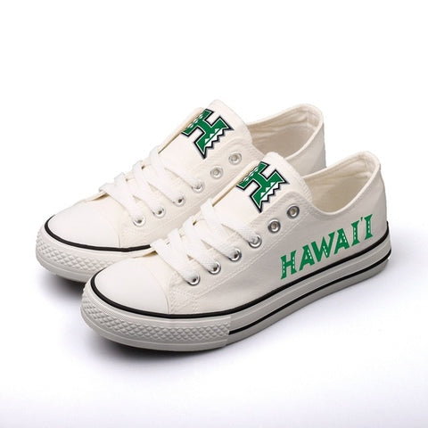 University of Hawaii Womens Team Canvas Shoes,  [product_collection], DEFINITE Sporting Goods, [product_tags]- DEFINITE Sporting Goods