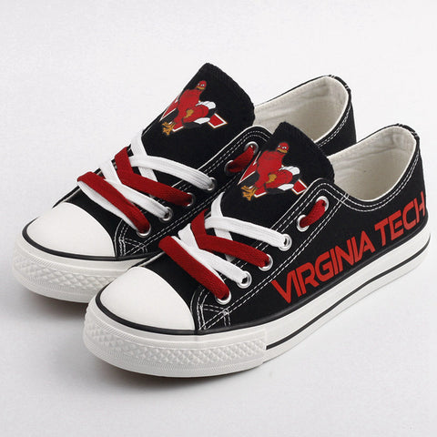Virginia Tech Hokies Womens Team Canvas Shoes,  [product_collection], DEFINITE Sporting Goods, [product_tags]- DEFINITE Sporting Goods