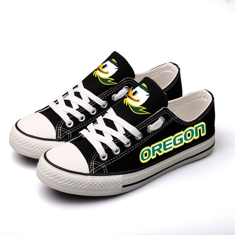 The Oregon Duck Womens Team Canvas Shoes,  [product_collection], DEFINITE Sporting Goods, [product_tags]- DEFINITE Sporting Goods