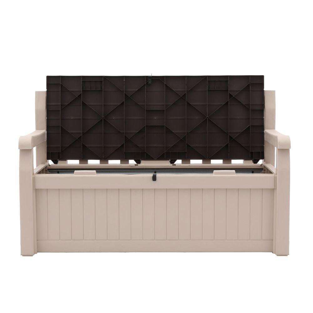Super Keter All Weather Outdoor 70 Gallon Storage Bench Gamerscity Chair Design For Home Gamerscityorg