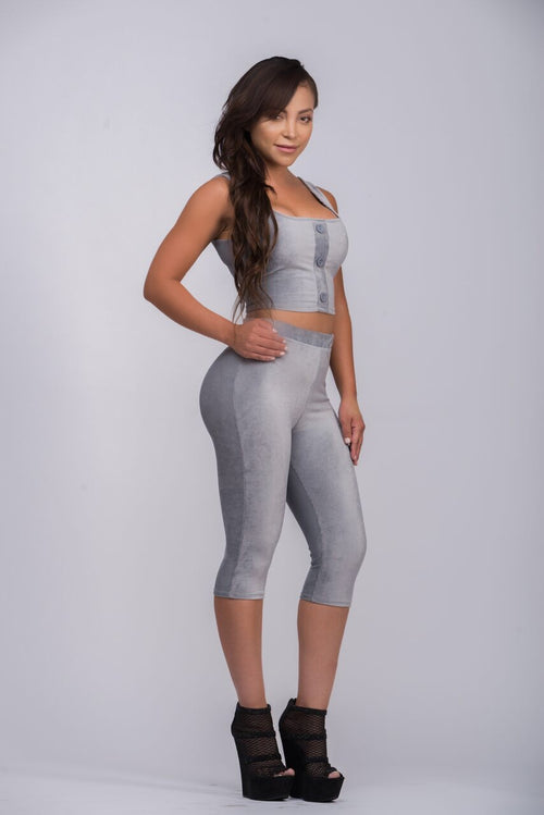 Game Changer Silver Two Piece Set