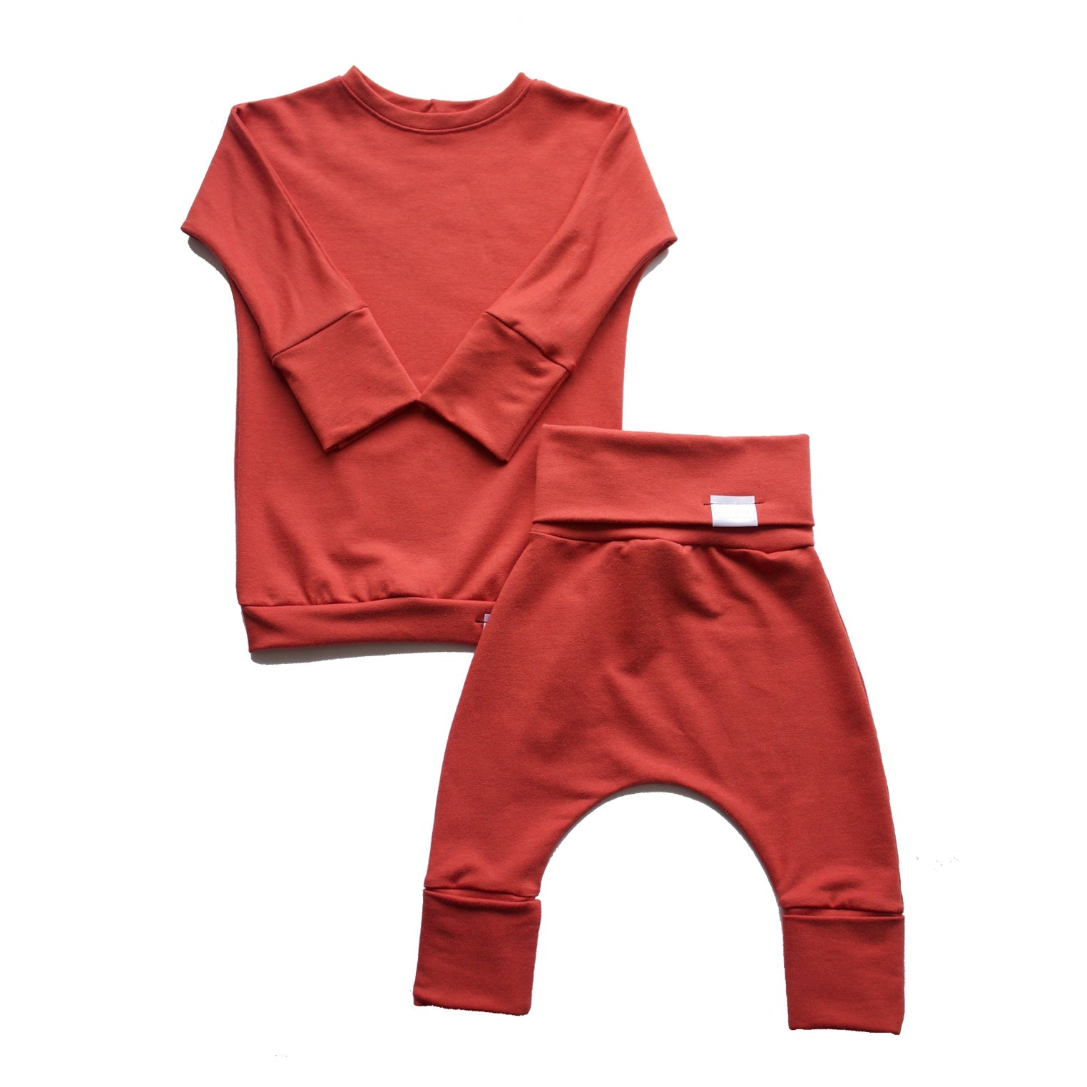 Grow With Me Set | Coral *French Terry