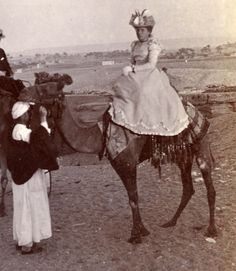 lady on a camel