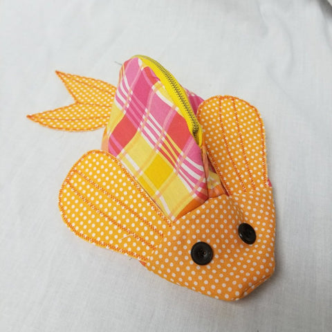 Yellow Fish Pencil Case