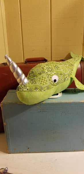 lime green narwhal