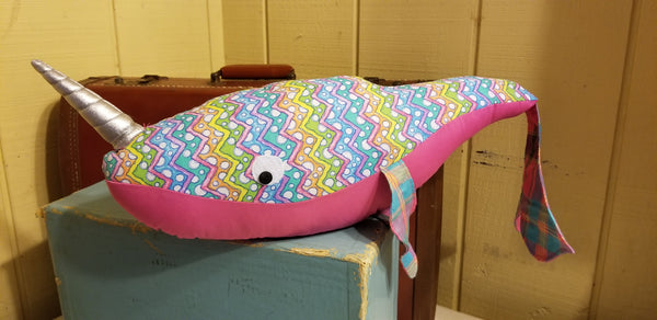 pink narwhal