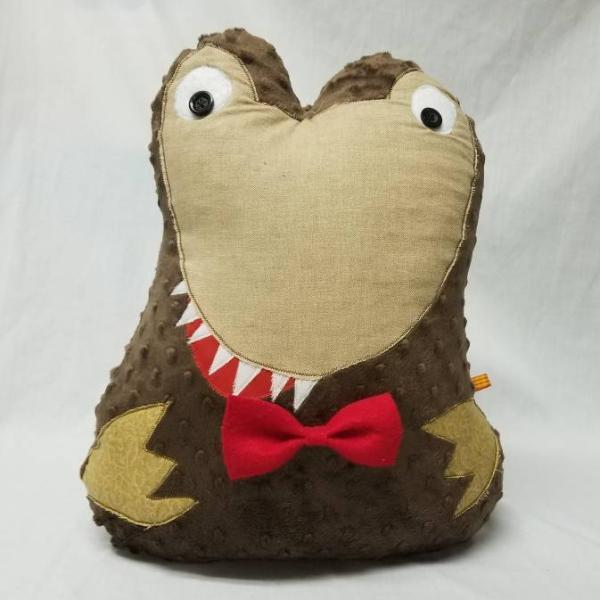 Brown Dinosaur Stuffed Animal