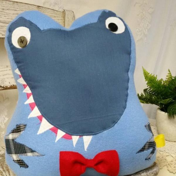 Blue Dinosaur Stuffed Animal