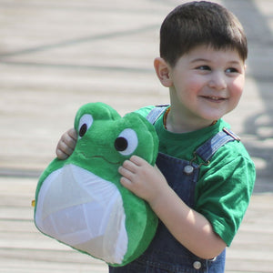 Frog Stuffed Animal-Stuffed Animal-Sir Winslows Zoo