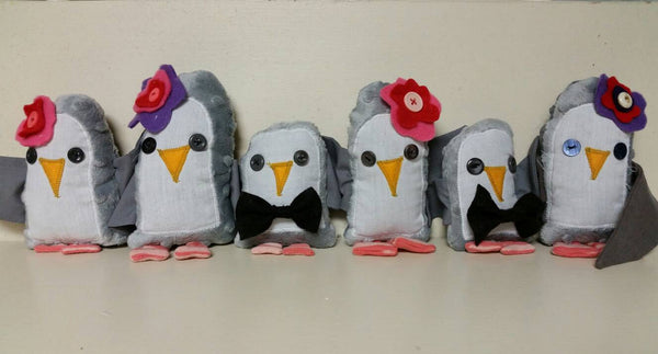 Tiny Stuffed Penguins-Stuffed Animal-Sir Winslows Zoo