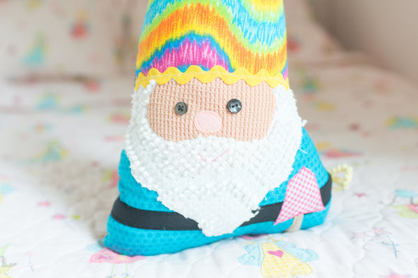 Hippie Gnome Pillow
