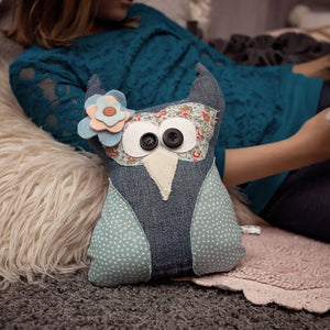 Stuffed Owl-Stuffed Animal-Sir Winslows Zoo