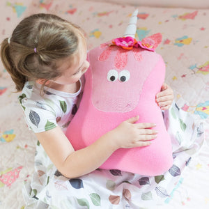 Pink Unicorn Stuffed Animal-Stuffed Animal-Sir Winslows Zoo