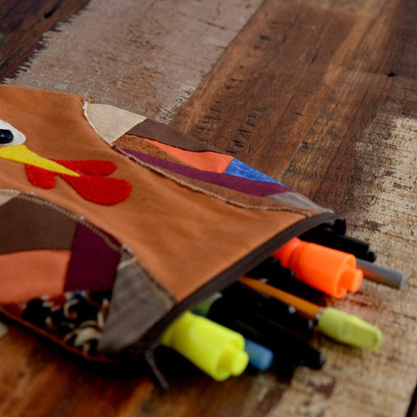 Chicken Pencil Case-Pencil Case-Sir Winslows Zoo