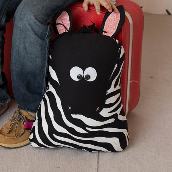 Zebra Stuffed Animal for Child gift under 50-Sir Winslows Zoo