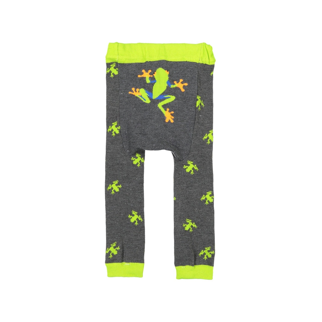 Doodle Pants - Green Frog