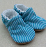 Snow and Arrow Cotton Slippers, Size 0-3 mos