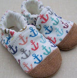 Snow and Arrow Cotton Slippers, Size 6-12 mos