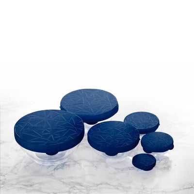 GIR Silicone Round Stretch Cover - 6 Piece Set