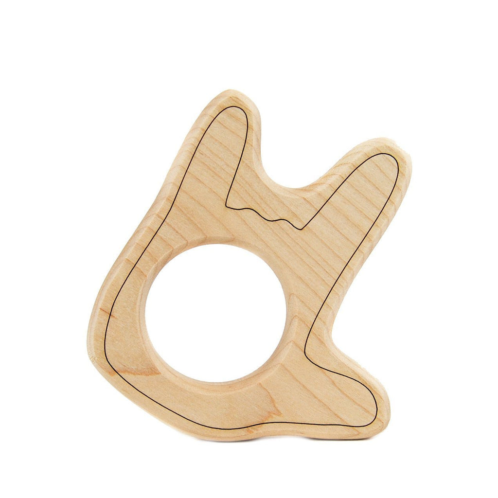 Little Saplings ASL I Love You Wood Toy Teether