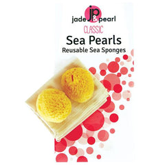 Jade & Pearl Small Reusable Sea Sponges