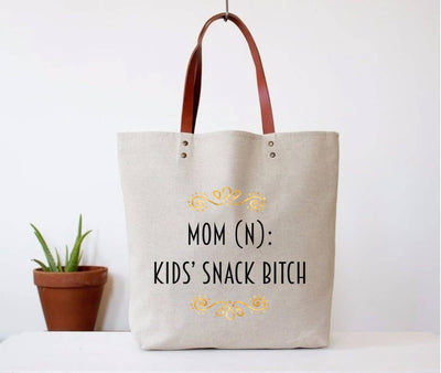 Kids Snack Bitch Tote