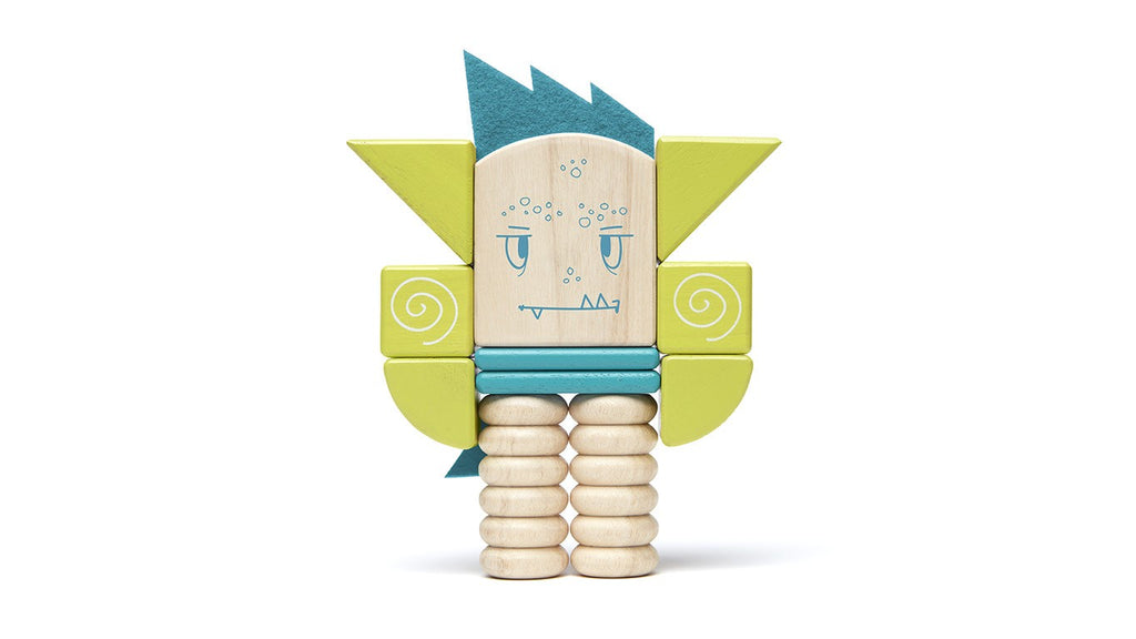 Tegu Sticky Monsters - Zip Zap