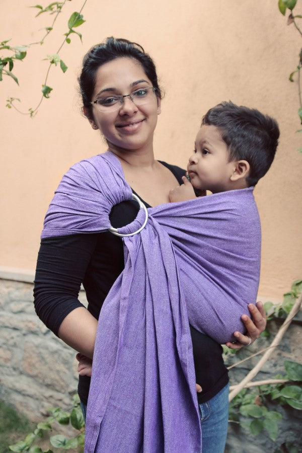 Soul Slings Single Layer Linen Ring Sling