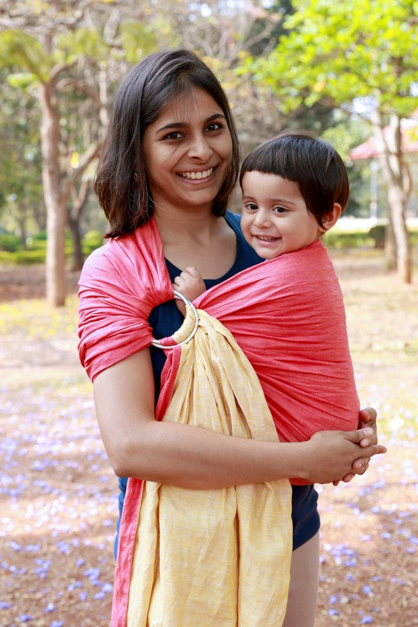 Soul Slings Double Layer Linen Ring Sling