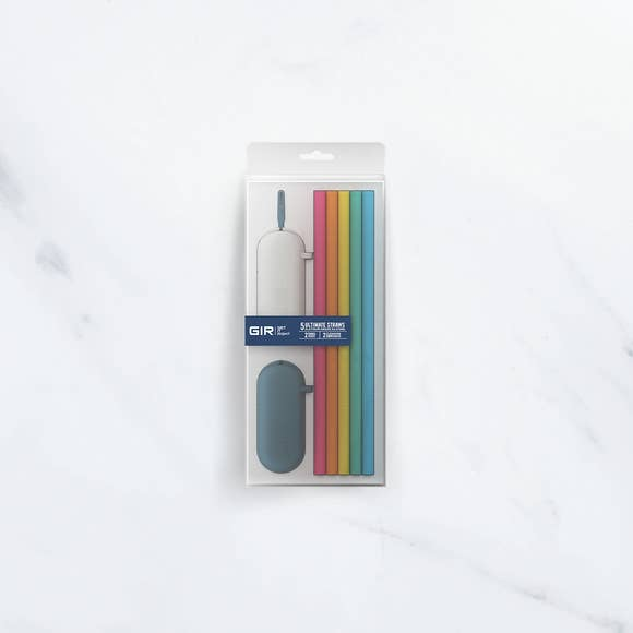 GIR Silicone Travel Straw Set