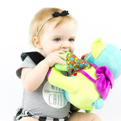 Darlyng & Co Yummy Buddy Teether Plush Toy