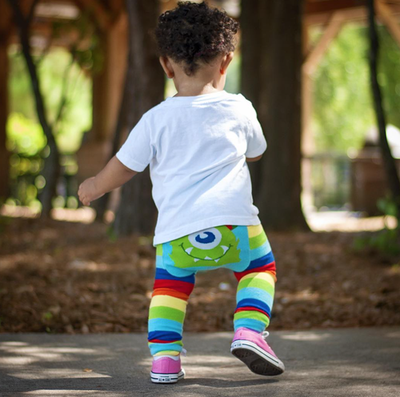 Doodle Pants - Rainbow Monster