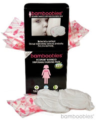 bamboobies® EcoPure® Premium Bamboo Disposable Nursing Pads