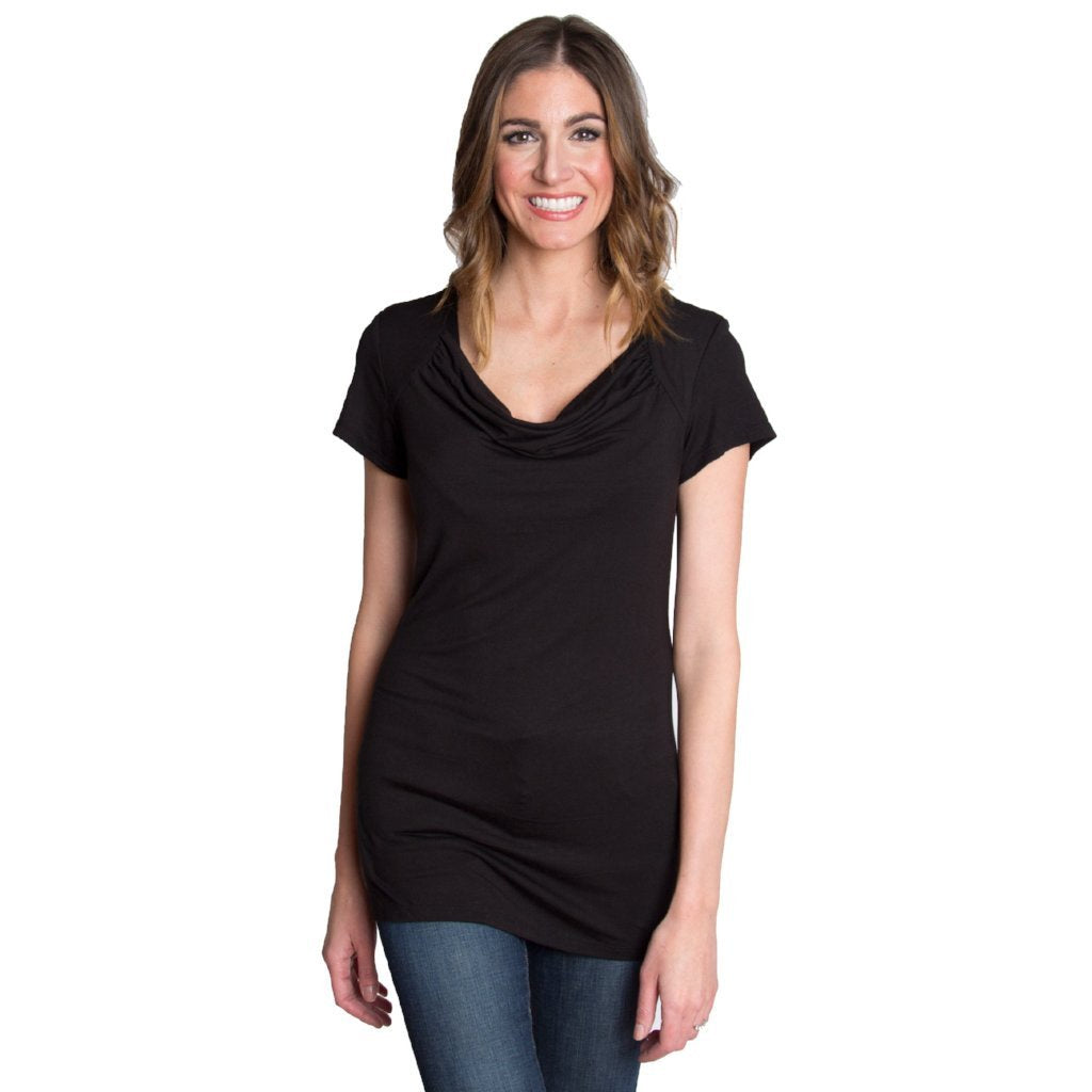 Udderly Hot Mama Chic Cowl Nursing Top