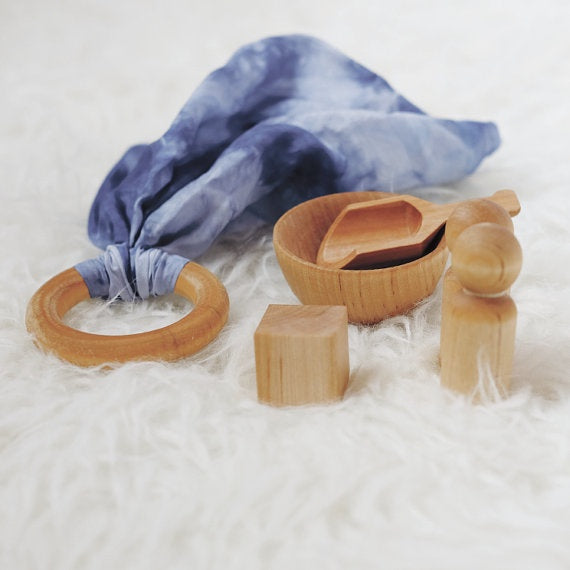 Clover and Birch Busy Bag - Bowl and Scoop Set