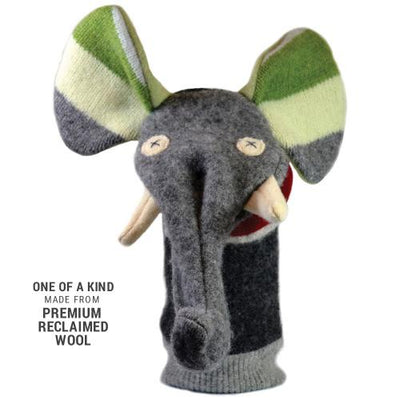 Cate & Levi Elephant Wool Puppet