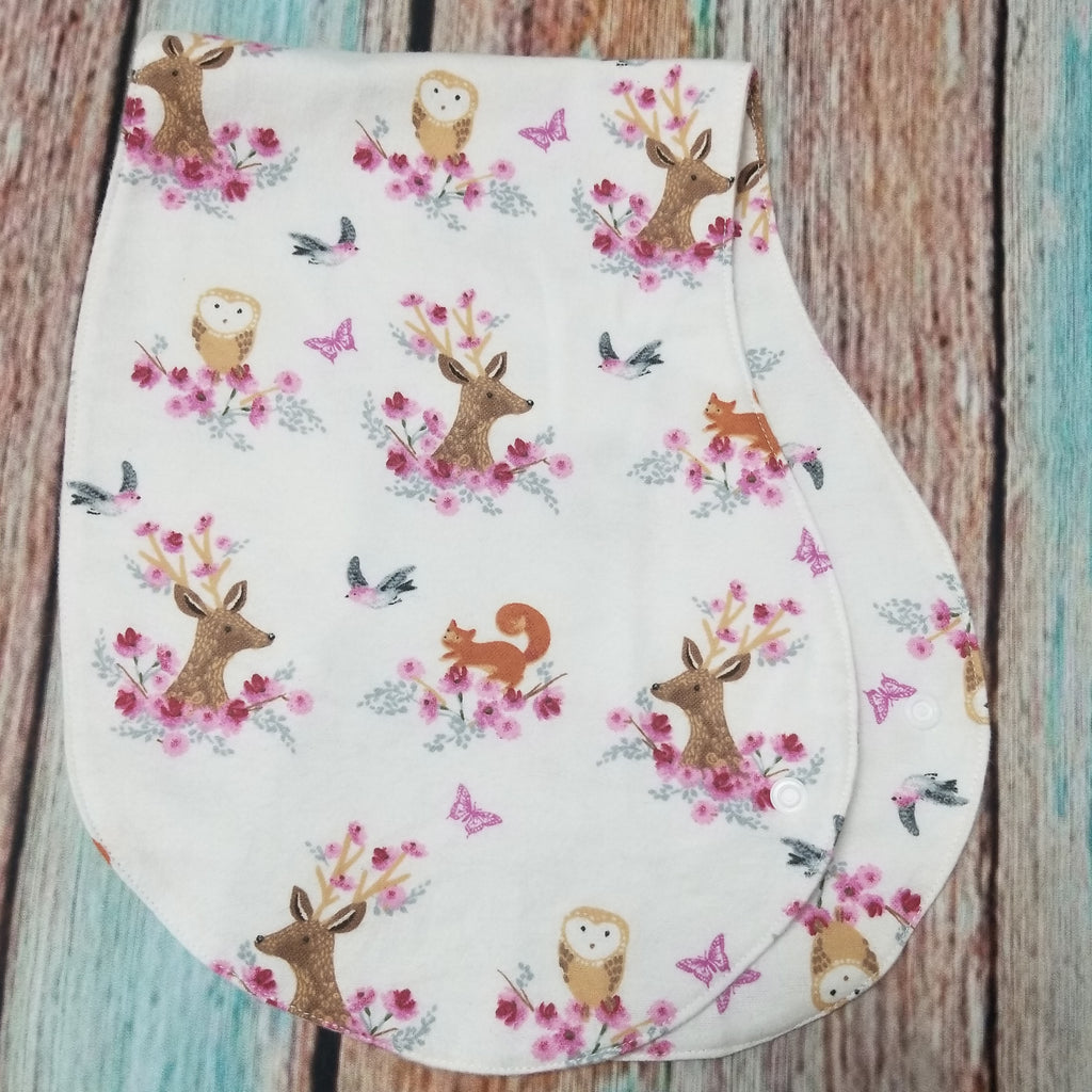 Goose and Gosling Burp Cloths