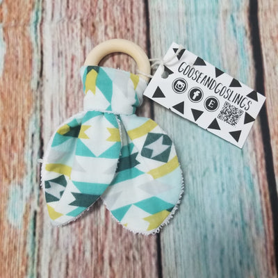 Goose and Gosling Teething Ring