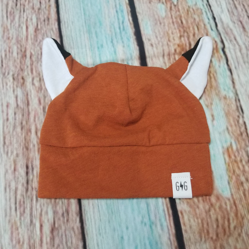Goose and Gosling Fox Knit Hat