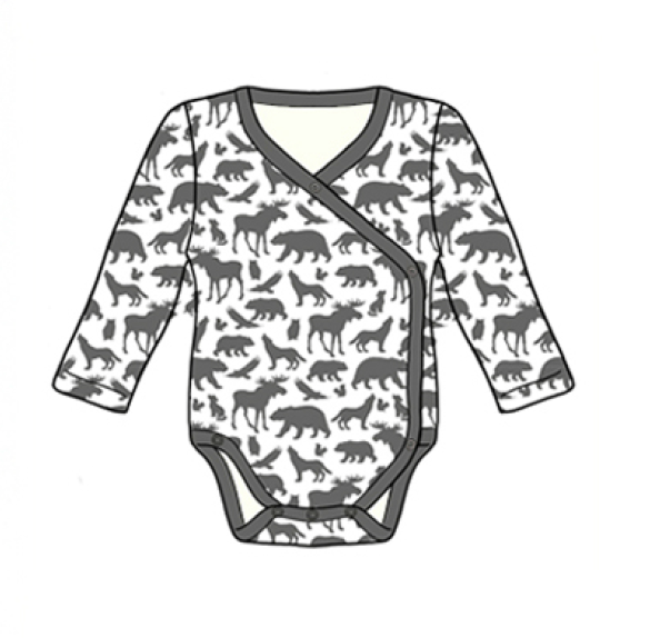 City Mouse - Animals Bodysuit