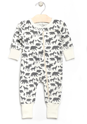 City Mouse - Animals Romper