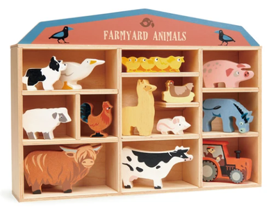 Tender Leaf Toys Farm Animals