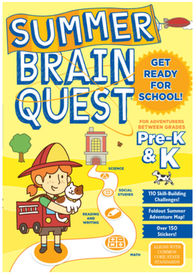 Summer Brain Quest Workbook