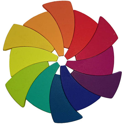 Wooden Color Wheel