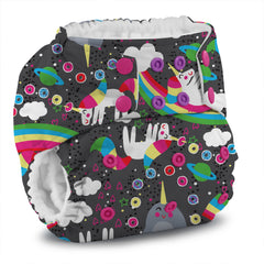 Rumparooz G2 Pocket Diaper - Narwhal Nirvana