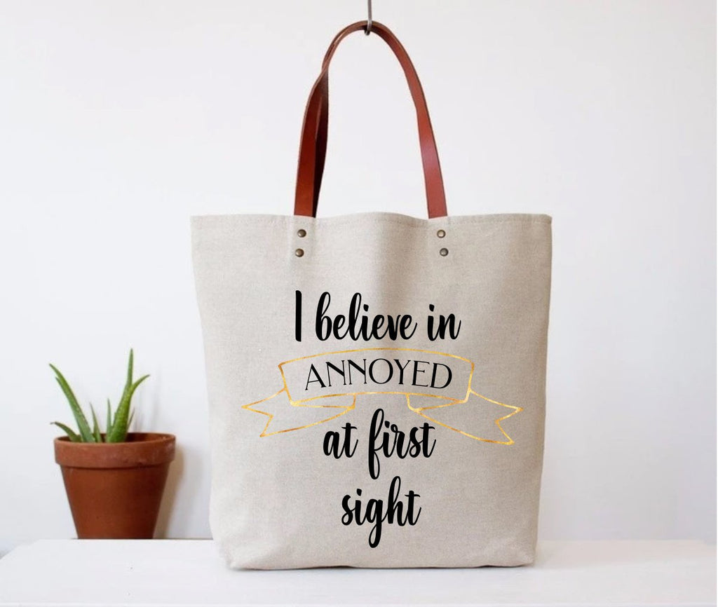 Annoyed At First Sight Tote
