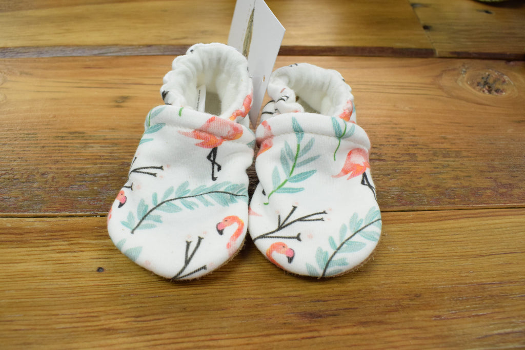 Snow and Arrow Cotton Slippers, Size 3-6 mos