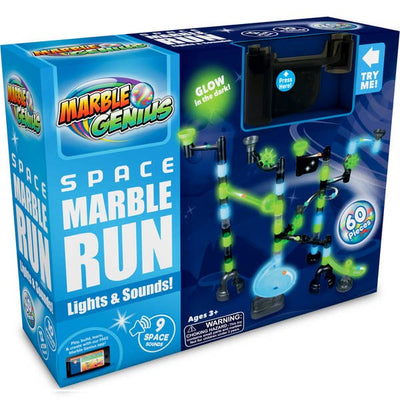 Marble Genius Marble Run Space Lights and Sounds Set